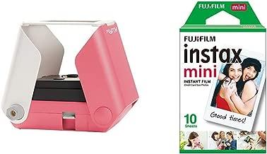 Informática 10 Fotos Rosa Kiipix Tm3362 Kit Impresora Fotográfica Para Smartphone Con Protector De Pantalla De Fujifilm Instax Mini Electrónica Terenowiec Com