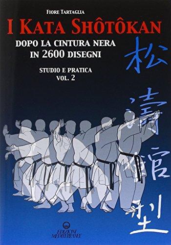 I kata shotokan dopo la cintura nera in 2600 disegni. Studio e pratica