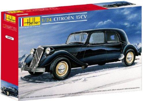 Heller 80763 - Modellino da Costruire, Auto Citroën 15 CV, Scala 1:24 [Importato da Francia]