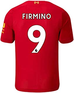 New Season Liverpool Home 9# Firmino 2019/2020 Season Mens Soccer Jerseys Colour Red