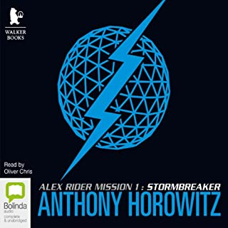 Stormbreaker                   By:                                                                                                                                 Anthony Horowitz                               Narrated by:                                                                                                                                 Oliver Chris                      Length: 4 hrs and 53 mins     34 ratings     Overall 4.5