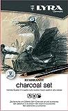 Lyra 2041112 Rembrandt Charcoal - Lápices, 11 Unidades Carboncillo, Multicolor