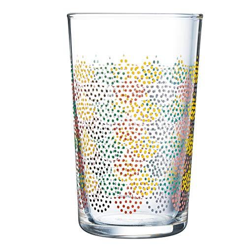 Luminarc ARTIFICA Vaso, Cristal, amarillo