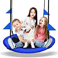 Pacearth Saucer Tree Swing Seat with Straps