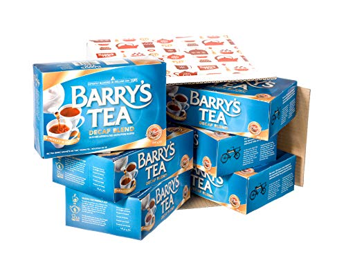 Barry's Tea, Decaffeinated Blend, 80-Count (Pack of 6)