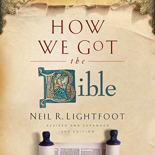How We Got the Bible audiobook cover art
