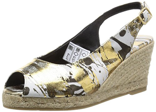 Desigual Damen Shoes Jardin Espadrilles, Gold (8010), 38 EU