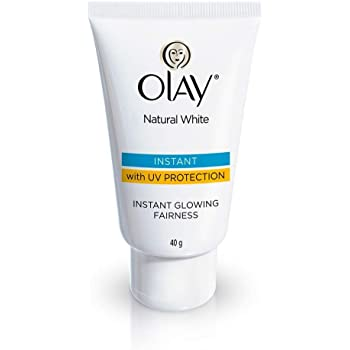 Olay Natural White Light Instant Glowing Fairness Cream, 40g