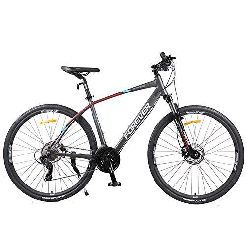 Nengge Dames mountainbike, 26 inch, 27 versnellingen, dubbele schijfrem, stijf, terreinvoertuig