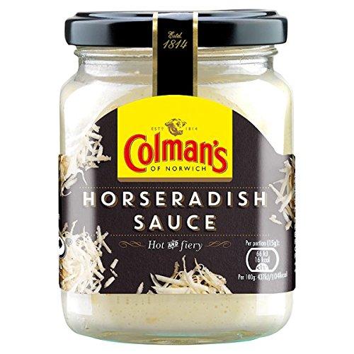 Colmans Horseradish Sauce 136g (6)