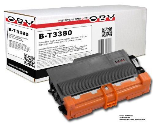 OBV kompatibler Premium Toner ersetzt Brother TN 3380 TN 3330 / DCP-8110DN DCP-8155 DN DCP-8250DN HL-5440D HL-5450HL-5450D HL-5450DN HL-5450DNT HL-5450Series HL-5470DW HL-5470DWT HL-5480DW HL-6100Series HL-6180DW HL-6180DWT MFC-8510DN MFC-8515 DN MFC-8520DN MFC-8710DW MFC-8810DW MFC-8910DW MFC-8950DW MFC-8950DWT