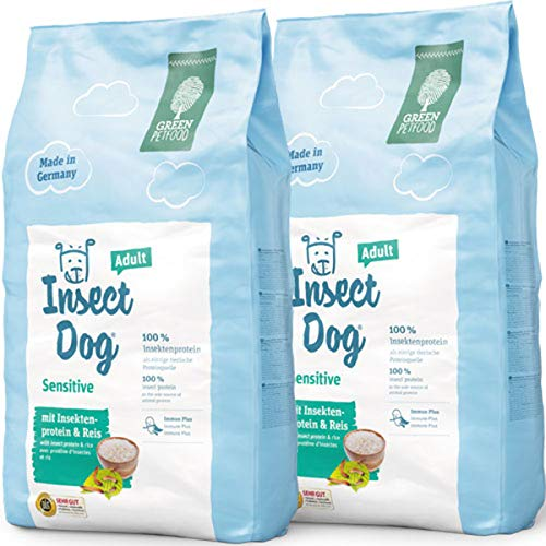 Green Petfood 2 x 10 kg InsectDog Sensitive