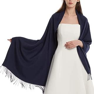 Womens Winter Scarf Cashmere Feel Pashmina Shawl Wraps Soft Warm Blanket Scarves for Women