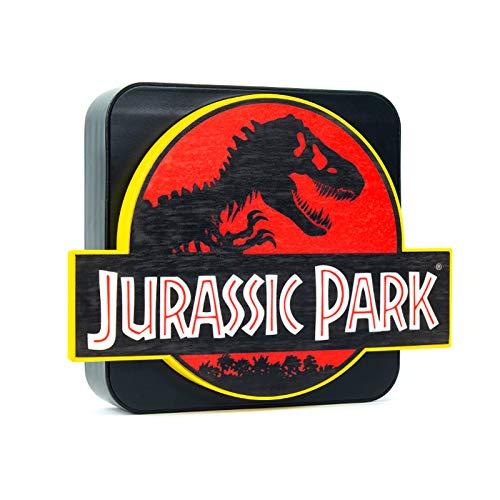 Numskull Official Jurassic Park 3D Desk Lamp Wall Light for Bedroom, Office, Home, Study, Work