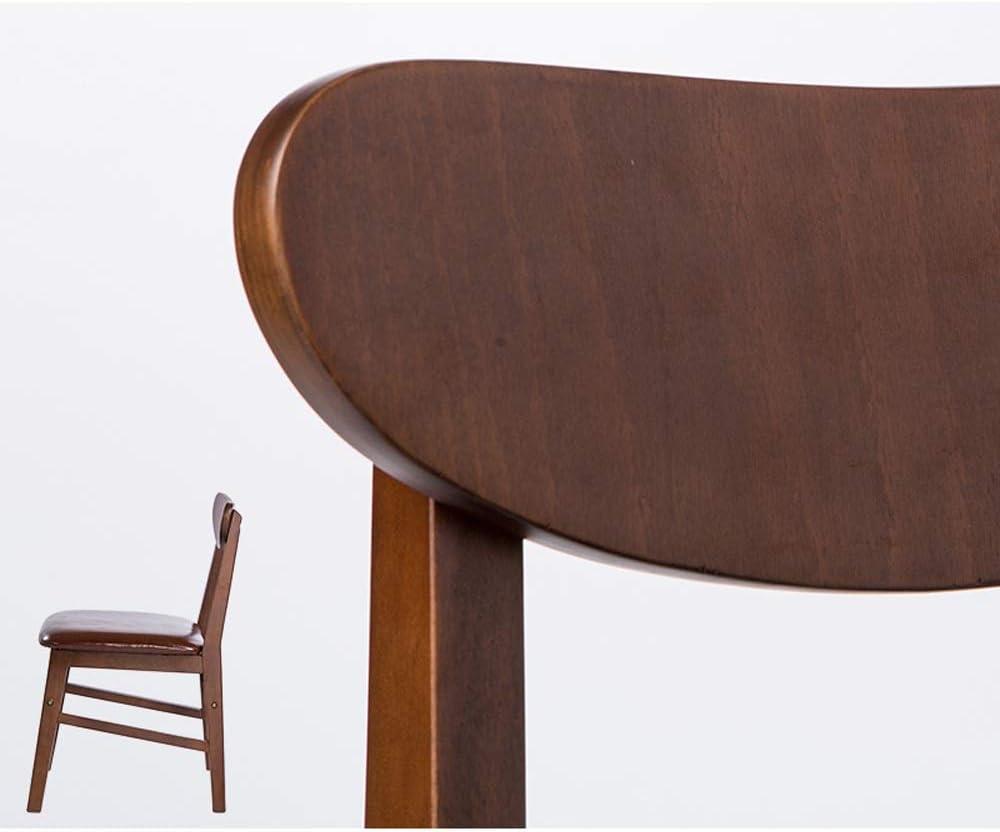 Chaise, maison en bois massif moderne nordique simple chaise avec dossier couleur café chaise dossier chaise à manger chaise chaise chaise loisirs chaise (Couleur : Gris) Gris