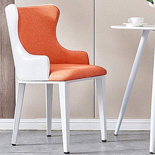 N&O Renovierungshaus Esszimmerstühle Stoffstuhl Esszimmerstuhl Abnehmbarer Stuhl Geeignet Home Cafe Restaurant Für Home Restaurant Stühle (Color : Grey Size : 47x43x83cm)