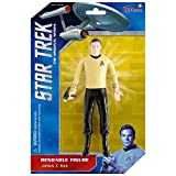 NJ Croce ST5103 Star Trek, 6' Capt. Kirk Bendable, 8', Figure