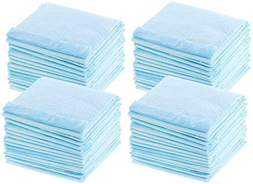 Sweetypet Welpenunterlage: Trainingsunterlagen für Welpen, extrem saugfähig, 60 x 60 cm, 60 Stück (Welpen Unterlagen)