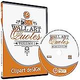 Wall Art Decal Quotes Clipart-Vinyl Cutter Plotter Images-Vector Clip Art Graphics CD