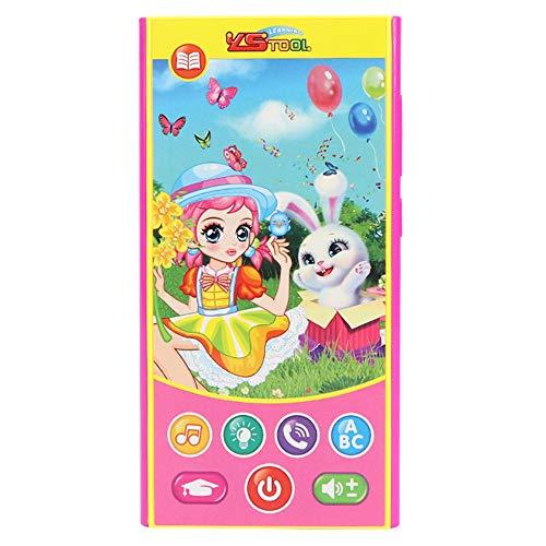 conqueror Bébé Téléphone Jouets Musique Toddler Téléphone Early Learning Toy pour Tous Les bébés, Enfants, garçons et Filles (B)