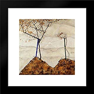 Autumn Sun 20x20 Framed Art Print by Egon Schiele