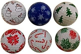 christmas golf balls