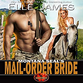 Montana SEAL's Mail-Order Bride     Brotherhood Protectors, Book 12              Written by:                                                                                                                                 Elle James                               Narrated by:                                                                                                                                 Gregory Salinas                      Length: 4 hrs and 36 mins     Not rated yet     Overall 0.0