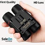 SaleOn Polarized HD Professional Lightweight Pocket Size Binocular Telescope Folding 30x60 Zoom Lens