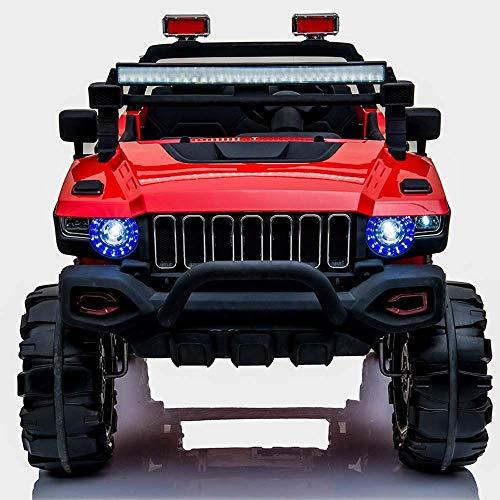 Modelo plazas coche 12V niños paseo en el coche eléctrico del camión...