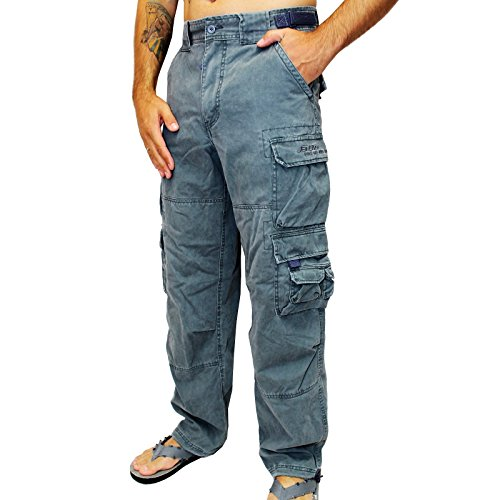 Pantaloni Jetlag 007 twill ocean blue, blu