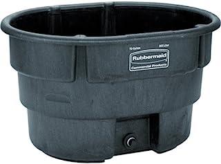 Rubbermaid Commercial Fg424288Bla Structural Foam Stock Tank, 100 Gallon Capacity,..