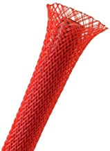 Techflex 1/4 Expandable Sleeving 25 ft. Red