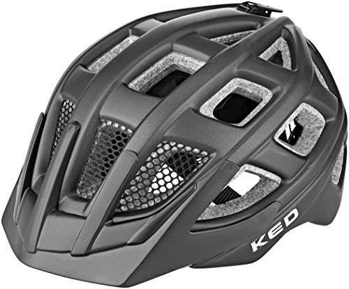 KED Kailu Helm Kinder Black Matte Kopfumfang M | 53-59cm 2021 Fahrradhelm
