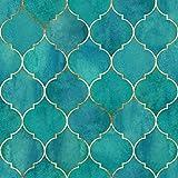Tischdeko 20 Stück Serviette Muster Ornamente Gold