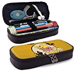 Pencil Case Makeup Bag Cartoon Winnie Pooh Halloween Pencil Case Large Capacity Pen Pouch Kids Boys Girls Cute Pencils Bags with Zipper Adults Office Products Holder Box