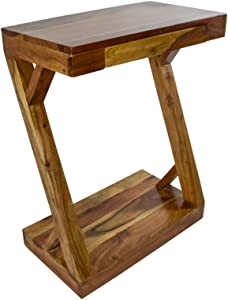 Casa Décor Z Table Bedside Portable Table Cart Tray for Studying Overbed Breakfast Sofa Table