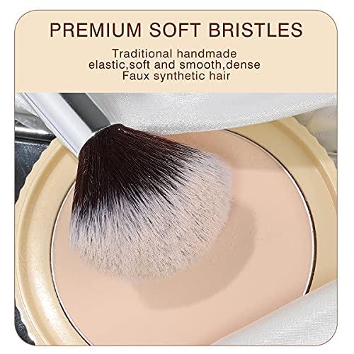 40 piece makeup brush set _image0