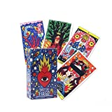 GYNFJK Juego de Cartas del Tarot Inglés Tarot Deck Table Card Juegos de Mesa Party Playing Tarot Cards Adivinación