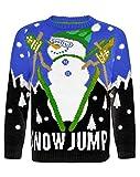 Kinder Weihnachten Pullover Snowman