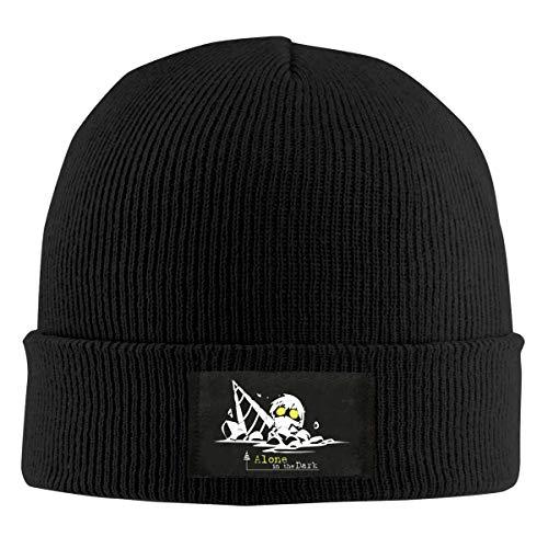 JoyRDaniels Gurren Lagann Beanie Knitted Hat Winter Cap Unisex Warm, Stretchy & Soft Hat Black