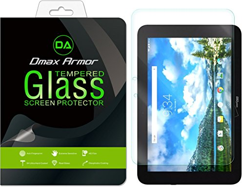 Dmax Armor for Verizon Ellipsis 10 Screen Protector, [Tempered Glass] 0.3mm 9H Hardness, Anti-Scratch, Anti-Fingerprint, Bubble Free, Ultra-Clear
