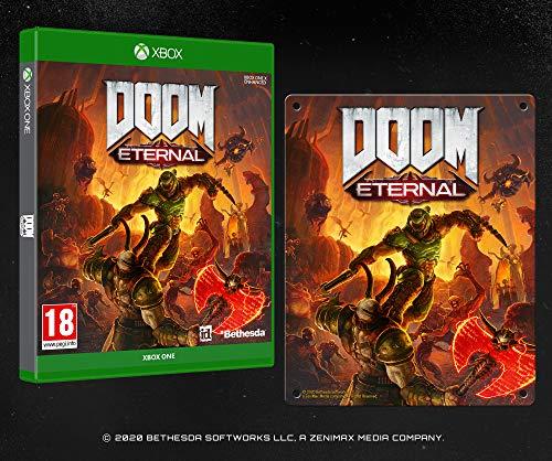 DOOM Eternal with Steel Poster (Exclusive to Amazon.co.uk) - Xbox One [Edizione: Regno Unito]