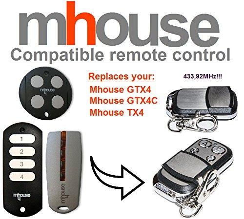 TAC4KR Compatible remote control // clone 433,92Mhz FERPORT TAC2K TAC4K TAC2KR
