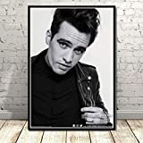 ZzSTX Brendon Urie Panic At The Disco Star Music Lienzo Carteles E Impresiones Lienzo Pintura Pared Arte Cuadro Decorativo 50X70 Cm Sin Marco