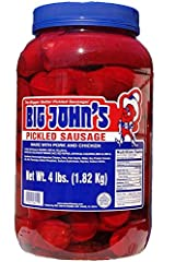 1 gallon Size This Sausage has a casing Plastic Container 4 lbs of Sausage