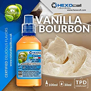 E LIQUID PARA VAPEAR - 30ml Vanilla Bourbon (Vainilla Cremosa Y Mantecosa) Shake and