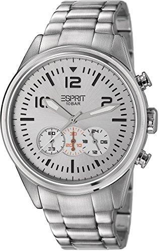 ESPRIT Reloj cronógrafo para Hombre de Cuarzo con Correa en Acero Inoxidable ES106321004