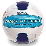 Mondo Toys – Balón de Playa Volley Pro Action Italia – Tamaño 5 Voleibol – 270 g – Color Blanco/Azul/Azul – 13850