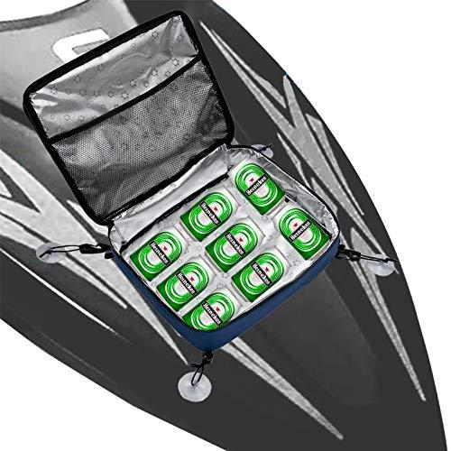 Bolsa de hielo para tabla de surf de 10 l – Bolsa de tabla de remo SUP Paddleboard bolsa de malla portátil para el almuerzo, bolsa de almacenamiento para latas, botella de vino, alimentos