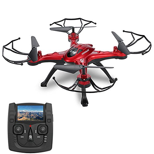 GoolRC T5G 5.8G FPV Drone con 2.0MP HD Camera Video in tempo reale, Headless modalità & One Key Return & 3D Flips RC Quadcopter